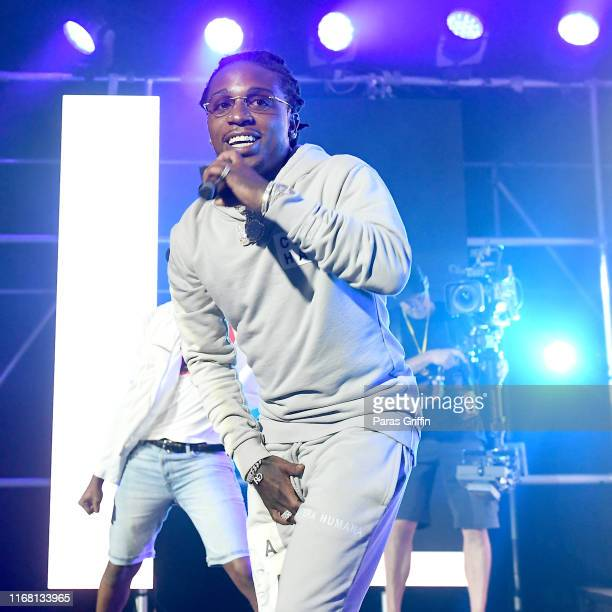 Jacquees performs onstage during day 2 of REVOLT Summit x ATT Summit on September 13 2019 in Atlanta Georgia