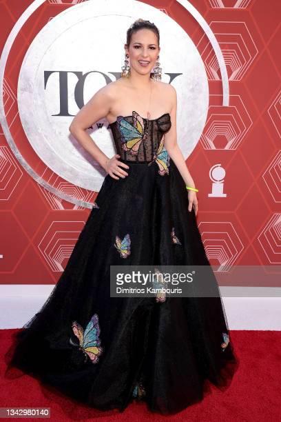 Jacquelene Acevedo attends the 74th Annual Tony Awards at Winter Garden Theater on September 26, 2021 in New York City.