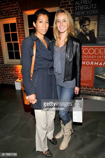 Jacqueline Adriano and Lauren Cole attend Seaport Museum New York Presents Everybody Street by Cheryl Dunn and Alfred Stieglitz New York at Seaport...