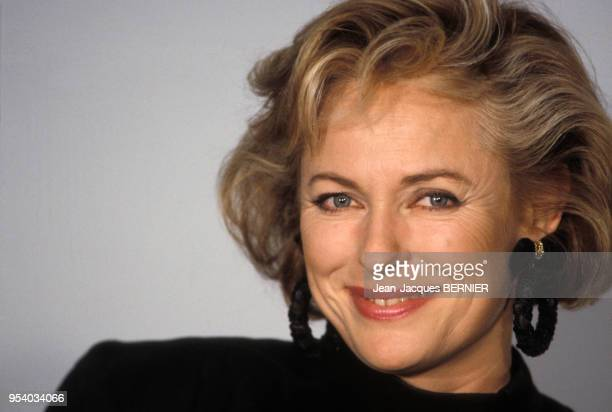 Jacqueline Alexandre lors de l'émission des 50 ans de la télévision le 7 décembre 1986 à Paris, France.