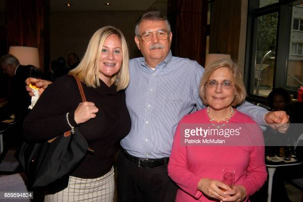 Jacqueline Andrews Jeff Underwood and Amy Underwood attend WEST 57th STREET by HILTON CLUB Ribbon Cutting Ceremony at West 57th Street on October 1...