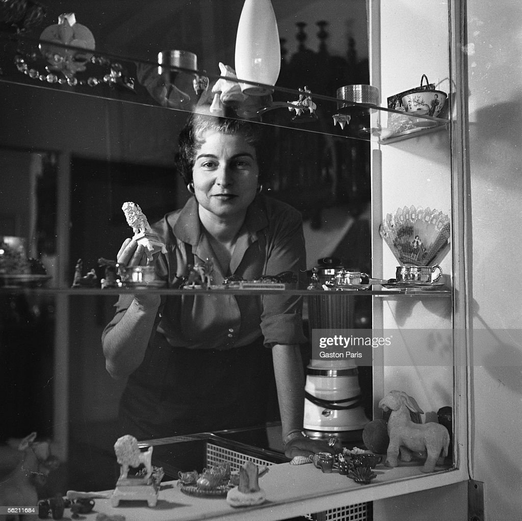 Jacqueline Audry (1908-1977), French director. Fra : News Photo
