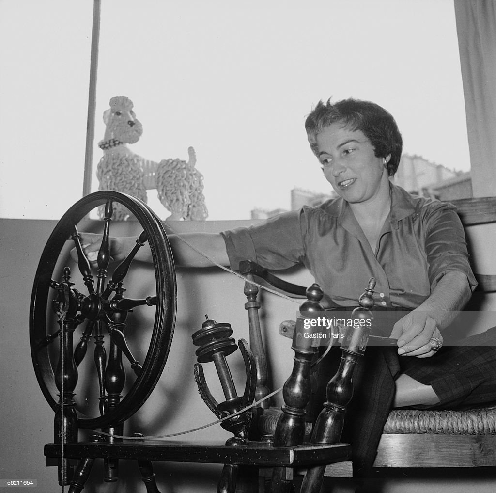 Jacqueline Audry (1908-1977), French film-maker, a : News Photo