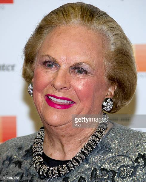 Jacqueline B Mars arrives for the formal Artist's Dinner honoring the recipients of the 39th Annual Kennedy Center Honors hosted by United States...