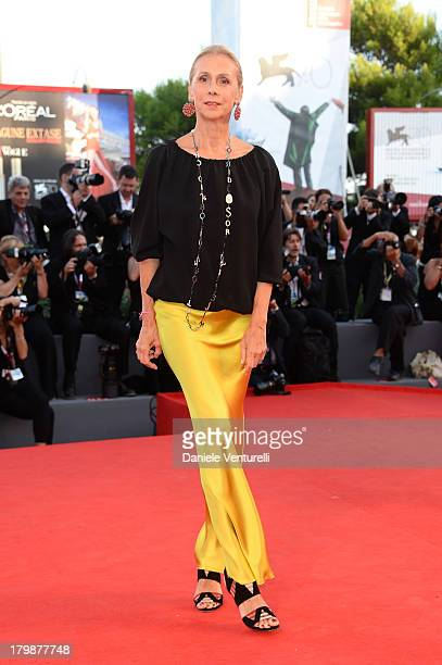Jacqueline Baudit arrives at the closing ceremony of the 70th Venice International Film Festival at Palazzo del Cinema on September 7 2013 in Venice...