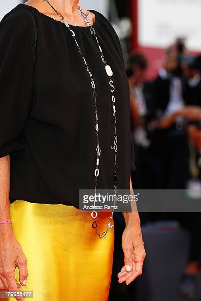 Jacqueline Baudit attends the Closing Ceremony during the 70th Venice International Film Festival at the Palazzo del Cinema on September 7 2013 in...