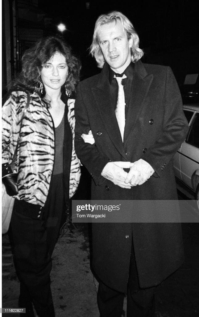 Jacqueline Bisset and Alexander Godunov at Langan's Brasserie - 1985