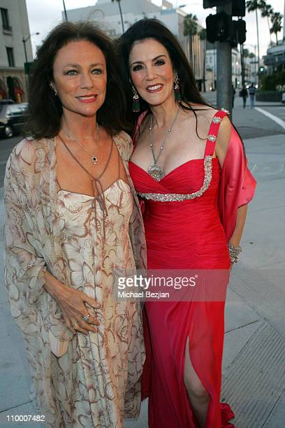 Jacqueline Bisset and Barbara Lazaroff during City of Beverly Hills Honors Fashion Icon and Giorgio Founder Fred Hayman at Black Tie Gala at Dayton...