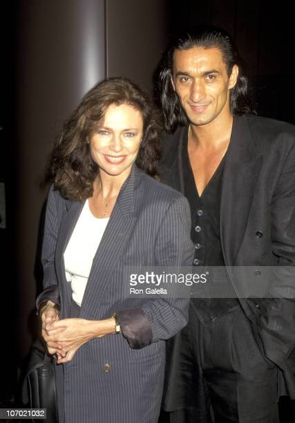 Jacqueline Bisset and boyfriend Emin Boztepe during Screening of Showtime's 'Hiroshima' at Director's Guild Theater in West Hollywood California...