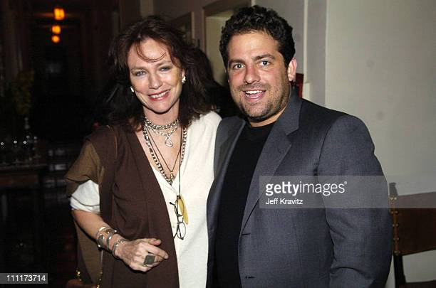 Jacqueline Bisset and Brett Ratner during 2005 HBO PreGolden Globe Awards Party in Los Angeles California United States