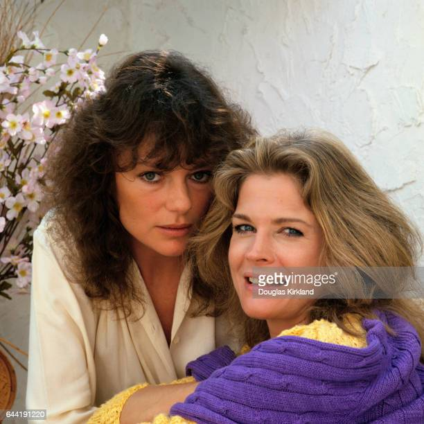 Jacqueline Bisset and Candice Bergen