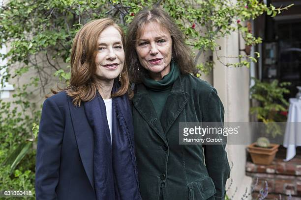 Jacqueline Bisset and Isabelle Huppert attend the French Consulate Lunch to Celebrate Golden Globe Awards Winners and Nominees at La Residence de...
