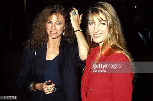 Jacqueline Bisset and Jane Seymour during HBO's 'Cast A Deadly Spell' Premiere in Los Angeles California United States