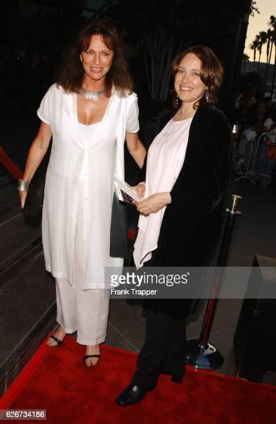 Jacqueline Bisset and Marcheline Bertrand at the Original Sin premiere