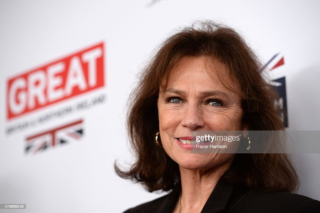Jacqueline Bisset attends the 2014 GREAT British Oscar Reception at British Consul General's Residence on February 28, 2014 in Los Angeles, California.