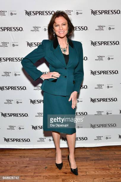 Jacqueline Bisset attends the 2018 Tribeca Film Festival afterparty for 'Blue Night' hosted by Nespresso at The Ainsworth on April 19 2018 in New...