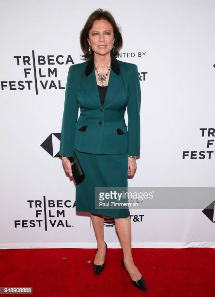 Jacqueline Bisset attends the 2018 Tribeca Film Festival Blue Night at SVA Theater on April 19 2018 in New York City