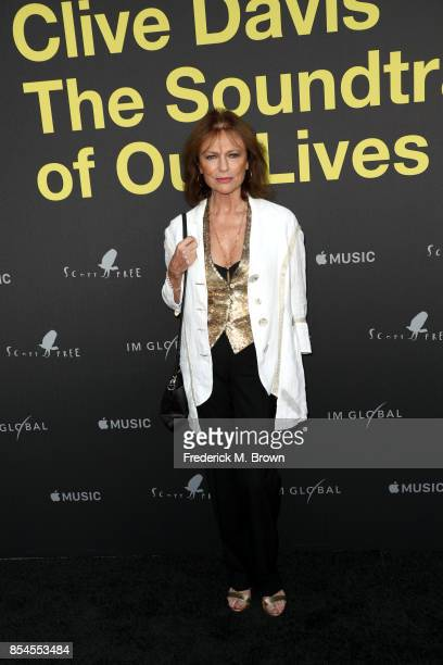 Jacqueline Bisset attends the Apple Music Los Angeles Premiere Of 'Clive Davis The Soundtrack Of Our Lives' at Pacific Design Center on September 26...