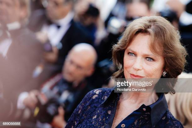 Jacqueline Bisset attends the Based On A True Story screening during the 70th annual Cannes Film Festival at Palais des Festivals on May 27 2017 in...