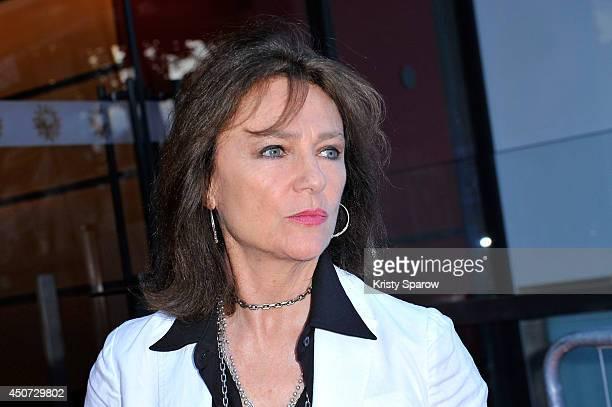 Jacqueline Bisset attends the Bon Retablissement! Paris Premiere during Day 6 of the Champs Elysees Film Festival on June 16, 2014 in Paris, France.