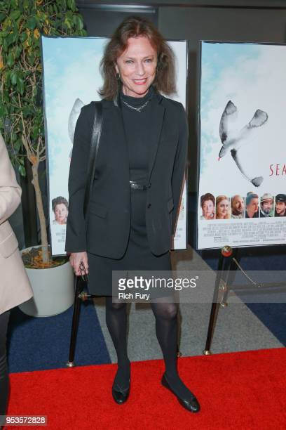 Jacqueline Bisset attends the premiere of Sony Pictures Classics' The Seagull at Writers Guild Theater on May 1 2018 in Beverly Hills California