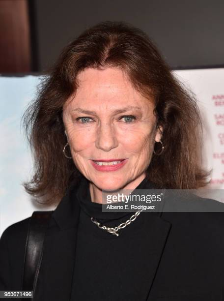 Jacqueline Bisset attends the premiere of Sony Pictures Classics' The Seagull at The Writers Guild Theater on May 1 2018 in Beverly Hills California