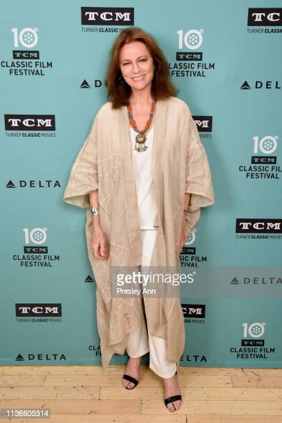 Jacqueline Bisset attends the screening of 'Day for Night' at the 2019 TCM 10th Annual Classic Film Festival on April 12 2019 in Hollywood California