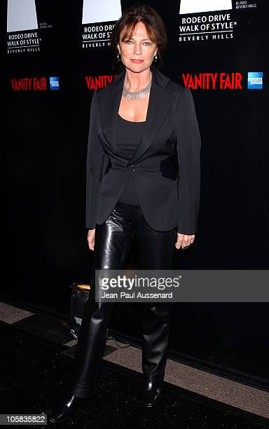Jacqueline Bisset during 2006 Rodeo Drive Walk of Style Awards Arrivals at Historic Beverly Hills Post Office in Beverly Hills California United...
