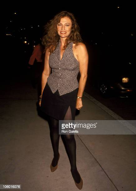 Jacqueline Bisset during Jacqueline Bisset at Chasen's in Beverly Hills August 3 1992 at Chasen's in Beverly Hills California United States