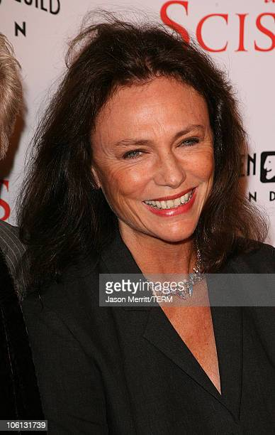Jacqueline Bisset during 'Running with Scissors' Los Angeles Premiere Arrivals at The Academy in Beverly Hills California United States