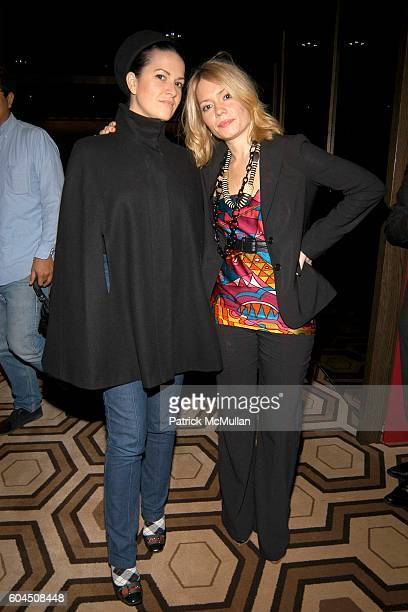 Jacqueline Bosnjak and Brooke Geahan attend CAPOEIRA LEGADOS AND ACCOMPANIED LITERARY SOCIETY Book Party For The Saga of Mestre Bimba at Tribeca...