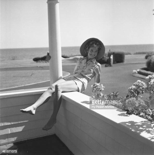 Jacqueline Bouvier On Vacation At The Kennedy Compound In