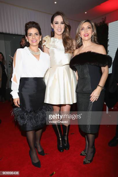 Jacqueline Bracamontes and guests attend the Latin Grammy Acoustic Session Mexico at El Lago restaurant on January 24 2018 in Mexico City Mexico