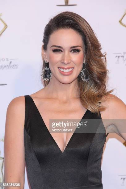 Jacqueline Bracamontes attends Premios Tv y Novelas 2017 at Televisa San Angel on March 26 2017 in Mexico City Mexico