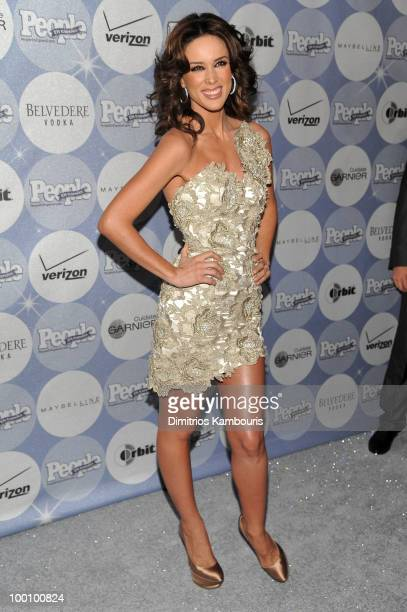 Jacqueline Bracamontes attends the People en Espanol Los 50 Mas Bellos party at Gustavino's on May 20 2010 in New York City