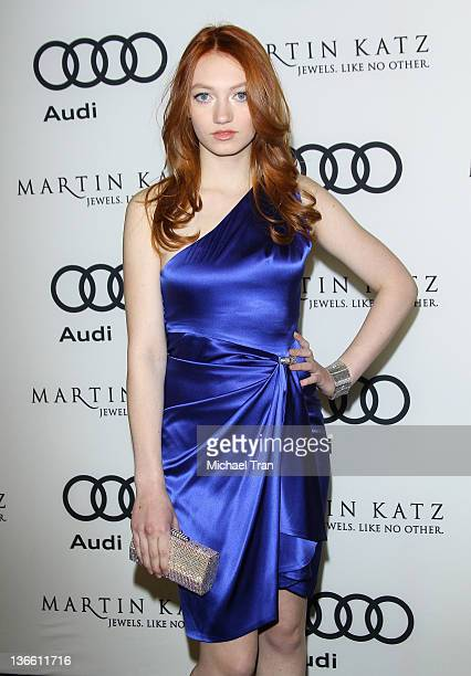 Jacqueline Emerson arrives at Audi and Martin Katz celebrate the 2012 Golden Globe Awards held at Cecconi's restaurant on January 8 2012 in Los...