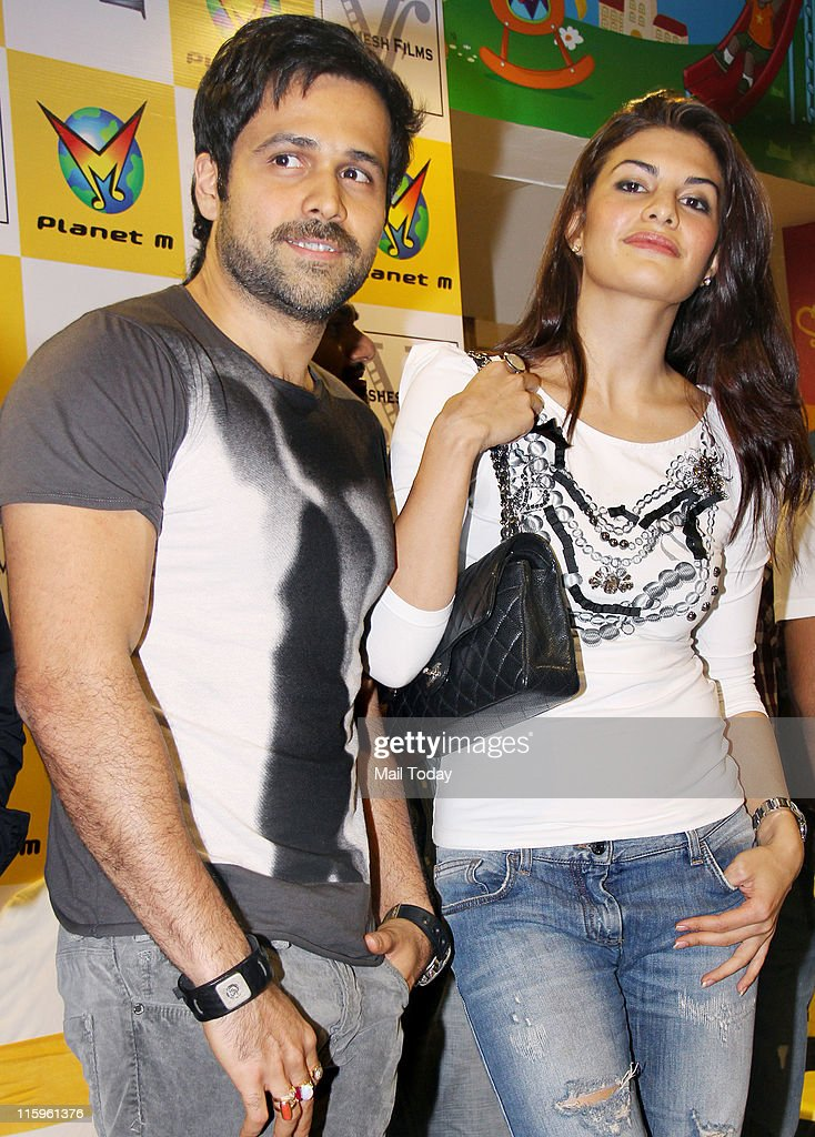 Jacqueline Fernandez and Emraan Hashmi at the music launch of the movie `Murder 2` at Planet M Mumbai on June 10 2011