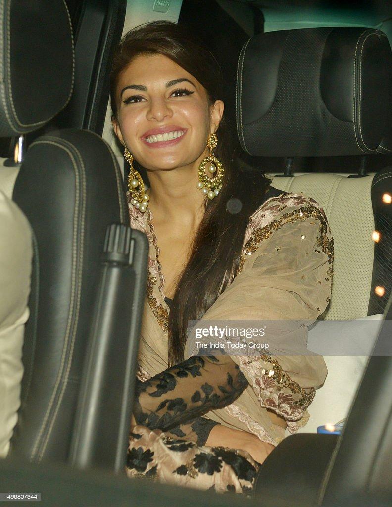 Jacqueline Fernandez at Ekta Kapoor`s Diwali party in Mumbai