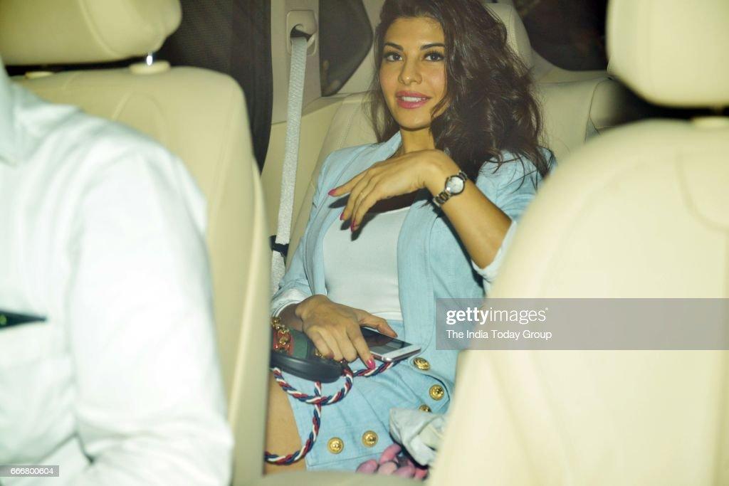 Jacqueline Fernandez at Karan Johar`s party in Mumbai