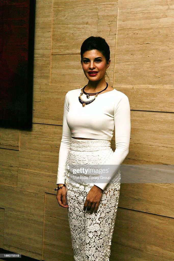 Jacqueline Fernandez during Asins birthday bash at JW Marriott in Mumbai