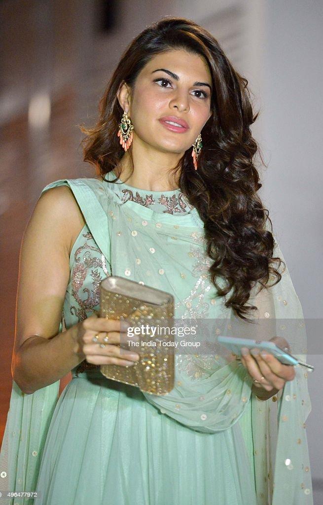 Jacqueline Fernandez in Afser Zaidi`s Diwali party in Mumbai
