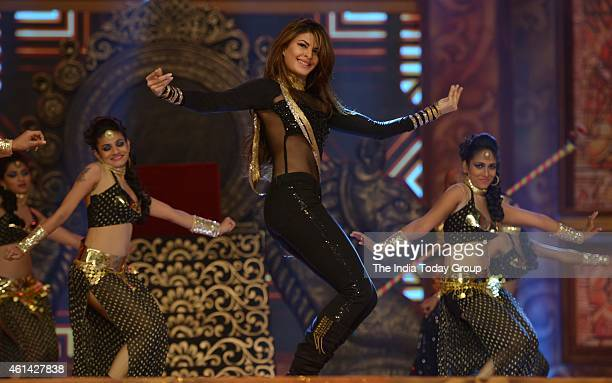 Jacqueline Fernandez performing in Mumbai police show UMANG at Andheri sports complex