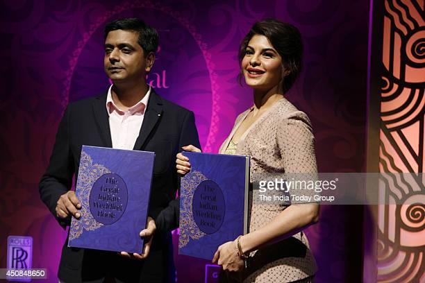 Jacqueline Fernandez Unveils The Great Indian Wedding Book At An Event In Grand Hyatt Mumbai