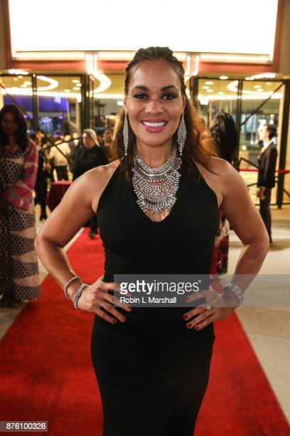 Jacqueline Fleming arrives at the 2017 HAPAwards at Alex Theatre on November 18 2017 in Glendale California