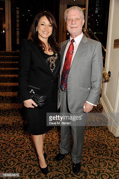 Jacqueline Gold and David Gold attend the TiE UK Awards 2013 at The Grosvenor House Hotel on March 18, 2013 in London, England.