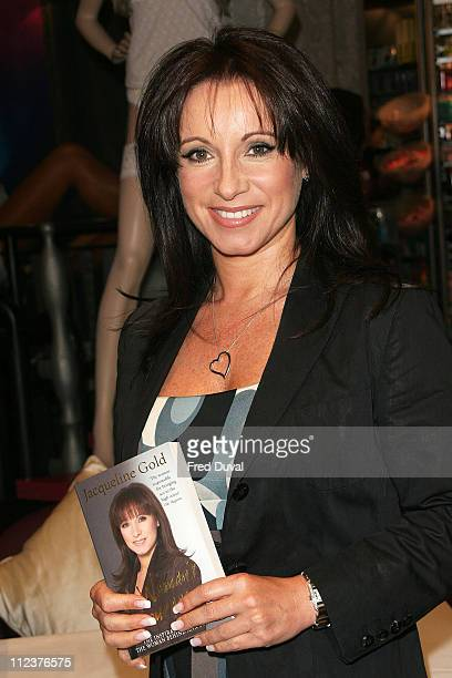 Jacqueline Gold during Jacqueline Gold Signs Copies of her New Book 'A Woman's Courage' at Ann Summers April 12 2007 at Ann Summers in London Great...