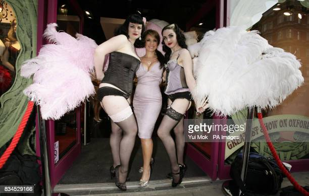 Jacqueline Gold the CEO of Ann Summers attends a party to celebrate the relaunch of the Ann Summers Oxford Street store in central London