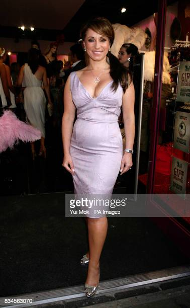 Jacqueline Gold the CEO of the company Ann Summers attends a party to celebrate the relaunch of the Ann Summers Oxford Street store in central London