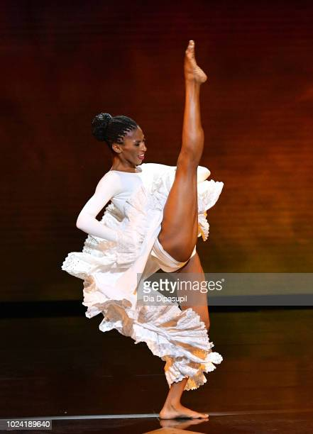 Jacqueline Green performs onstage during the Black Girls Rock 2018 Show at NJPAC on August 26 2018 in Newark New Jersey