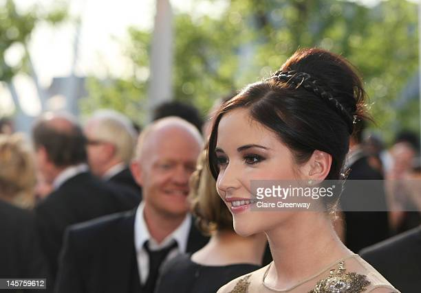 Jacqueline Jossa attends The Arqiva British Academy Television Awards 2012 at The Royal Festival Hall on May 27 2012 in London England